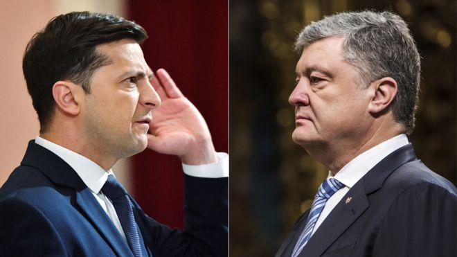 Порошенко і Зеленський вже проголосували на виборах (ФОТО)