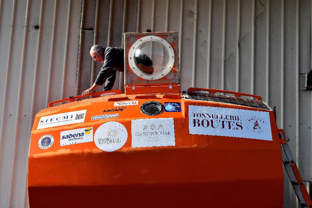 72-річний француз перетнув Атлантичний океан у бочці (ВІДЕО)