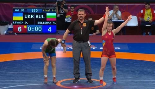 Дівчина з Прикарпаття стала чемпіонкою Європи з боротьби (ФОТО, ВІДЕО)