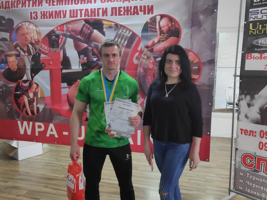 Калушанин переміг у Чемпіонаті Західної України з жиму лежачи (ФОТО)