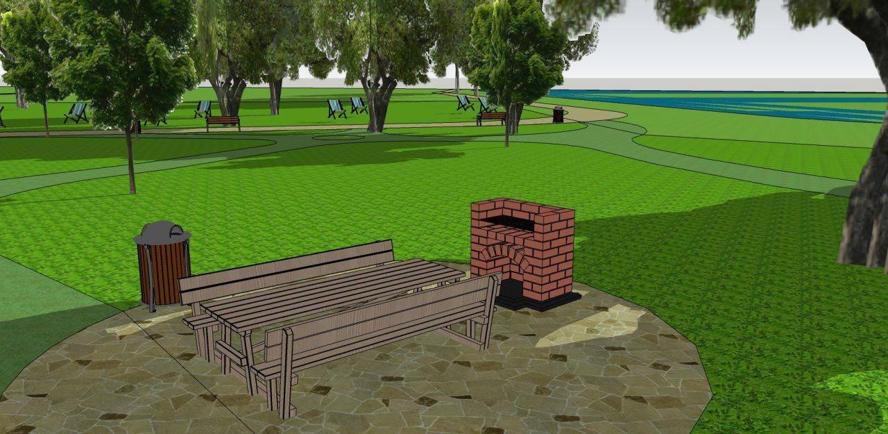 Занедбану територію біля міського озера хочуть перетворити у відпочинкову зону (ПРОЕКТ)