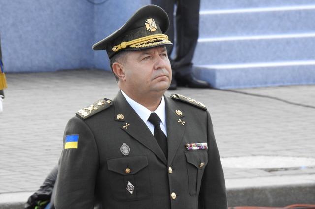 """""""Честь маю"""": Міністр оборони подав у відставку"""