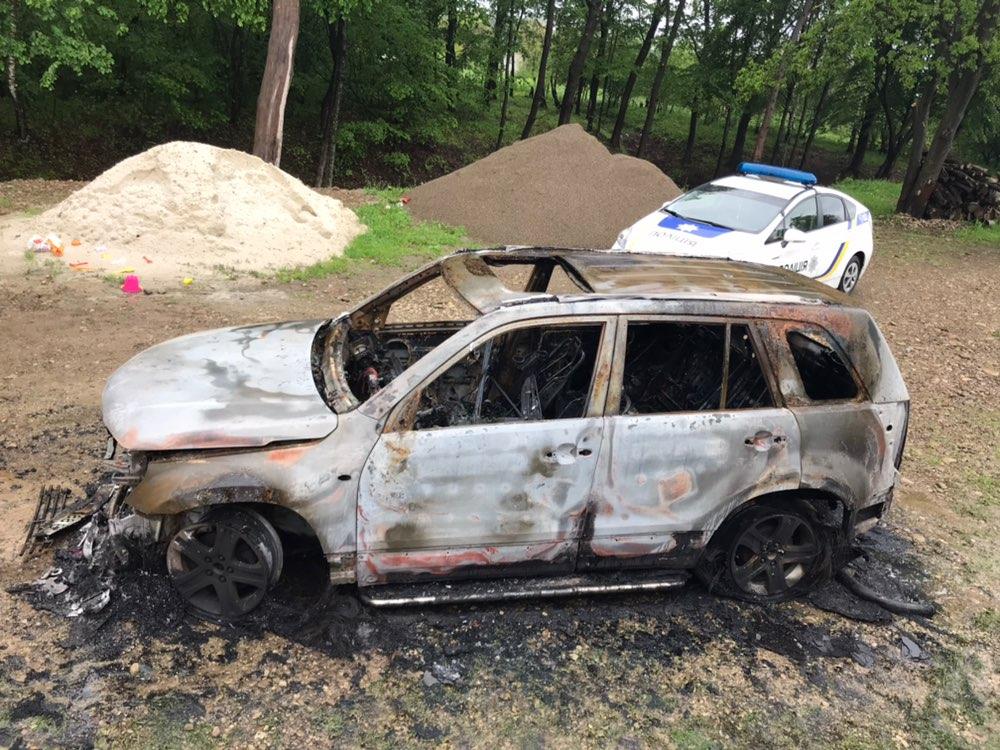 У поліції підтвердили факт підпалу машини депутата обласної ради