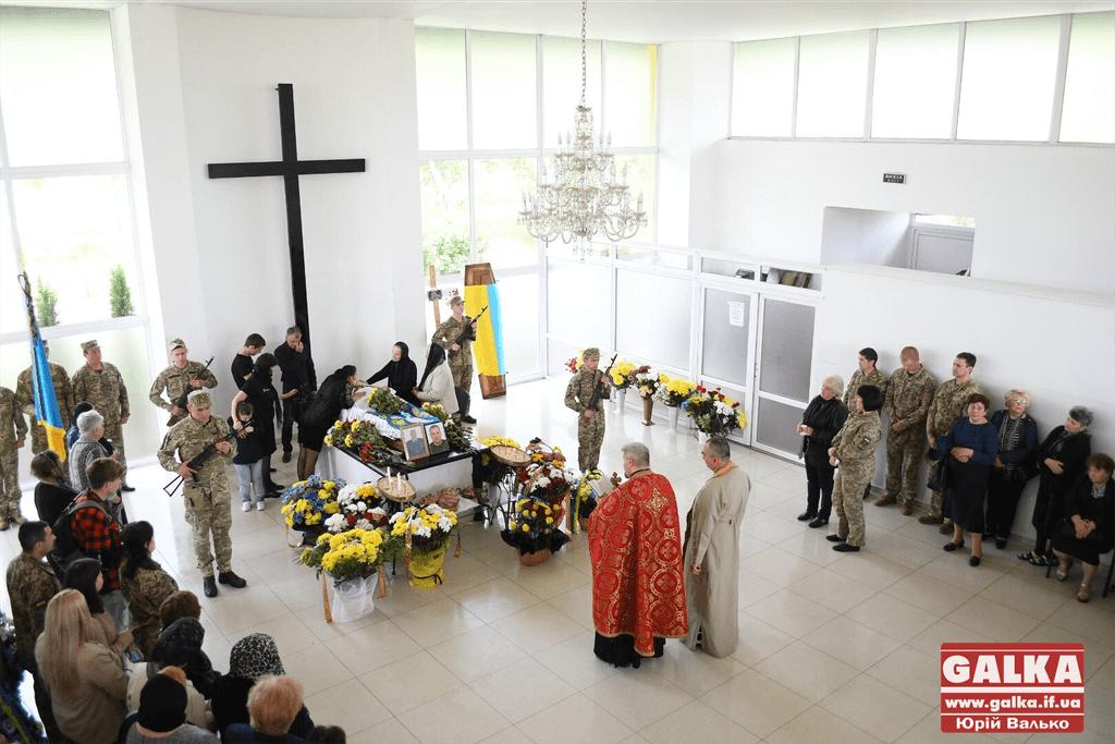 У Франківську попрощались зі загиблим у зоні бойових дій Василем Джусом (ФОТО)