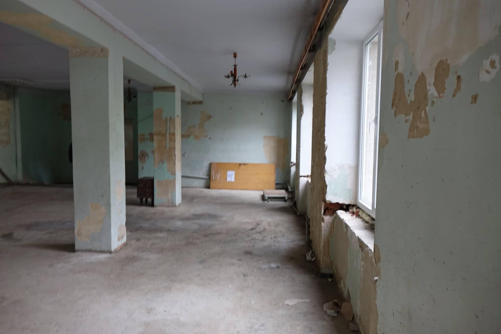 Триває ремонт у міській дитячій лікарні (ФОТО)