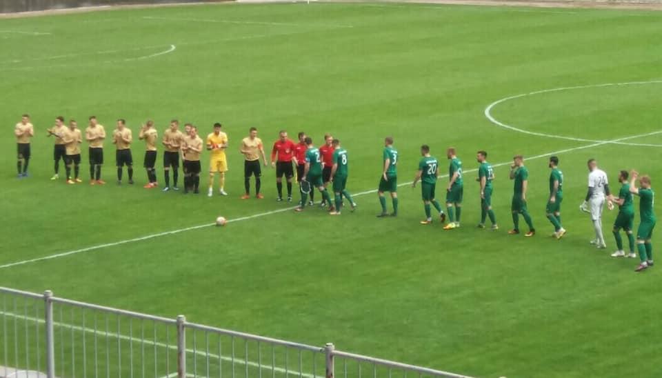 """Футболісти """"Прикарпаття"""" на виїзді обіграли суперників із Сум (ВІДЕО)"""