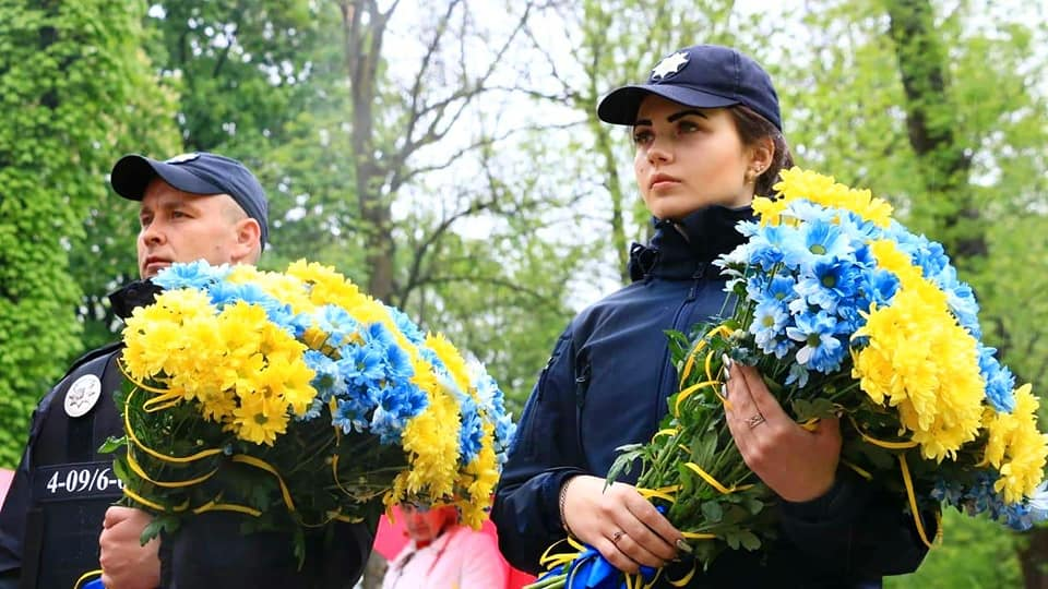 У Франківську вшанувалипам'ять загиблих героїв Небесної Сотні і бійців АТО (ФОТО)