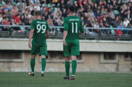 """Два гравці """"Прикарпаття"""" – у символічній збірній 27 туру Першої ліги"""
