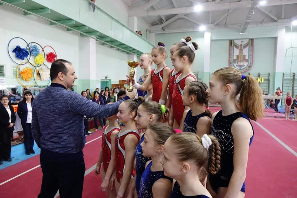 Юні франківські гімнастки вибороли командну першістьчемпіонату України (ФОТО)