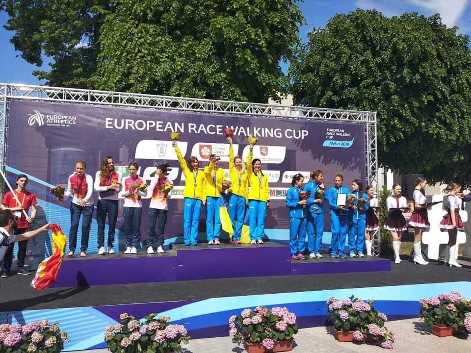 Франківські спортсмени показали найкращі результати на кубку Європи зі спортивної ходьби (ФОТО)