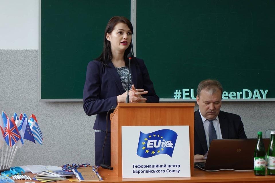Франківським студентам розповіли, як реалізувати себе в Європі (ФОТО)