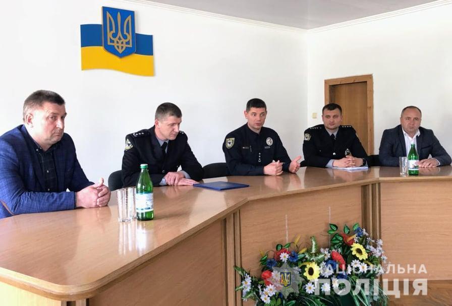 В Івано-Франківську новий начальник міського відділу поліції (ФОТО)