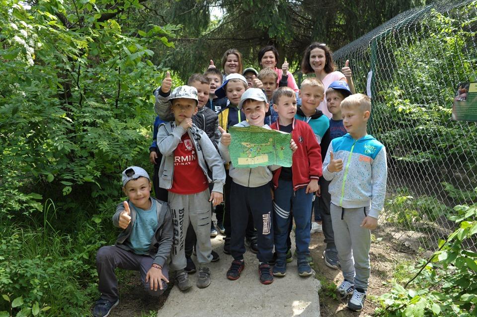 У Галицькому нацпарку влаштували унікальний туристичний квест для школярів (ФОТО)