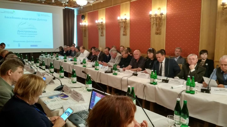 У Франківську фахівці з України й Молдови обговорюють водно-екологічні проблеми басейну Дністра (ФОТО)