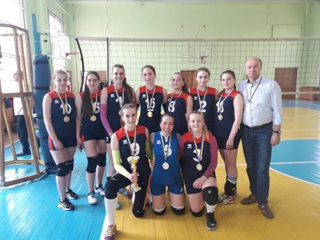 Франківські волейболістки перемогли на Спортивних іграх України