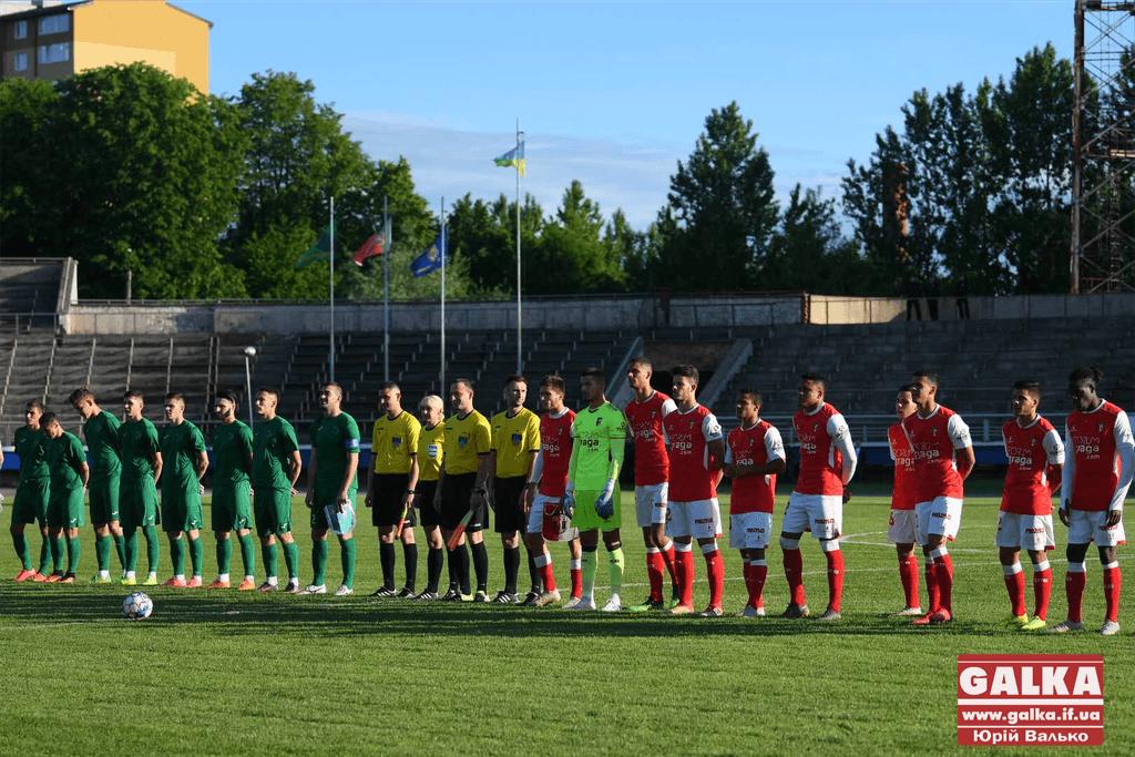 В Івано-Франківську відбувся яскравий матч між місцевим «Прикарпаттям» та португальською «Брагою» (фоторепортаж)