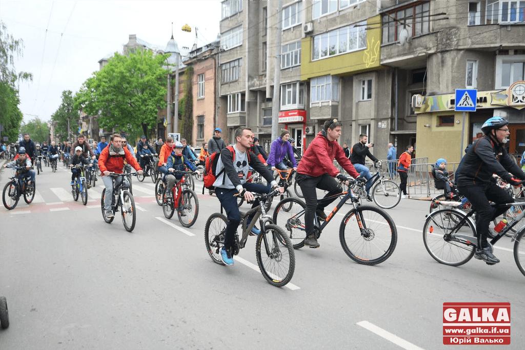У Франківську до Дня Незалежності проведуть велопробіг (МАРШРУТ)