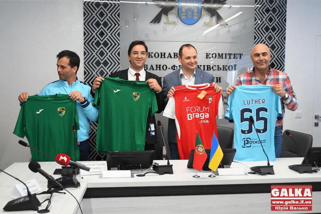 Представники ФК «Браги», «Прикарпаття» та мерії поділилися очікуваннями від завтрашньої товариської гри (ФОТО)