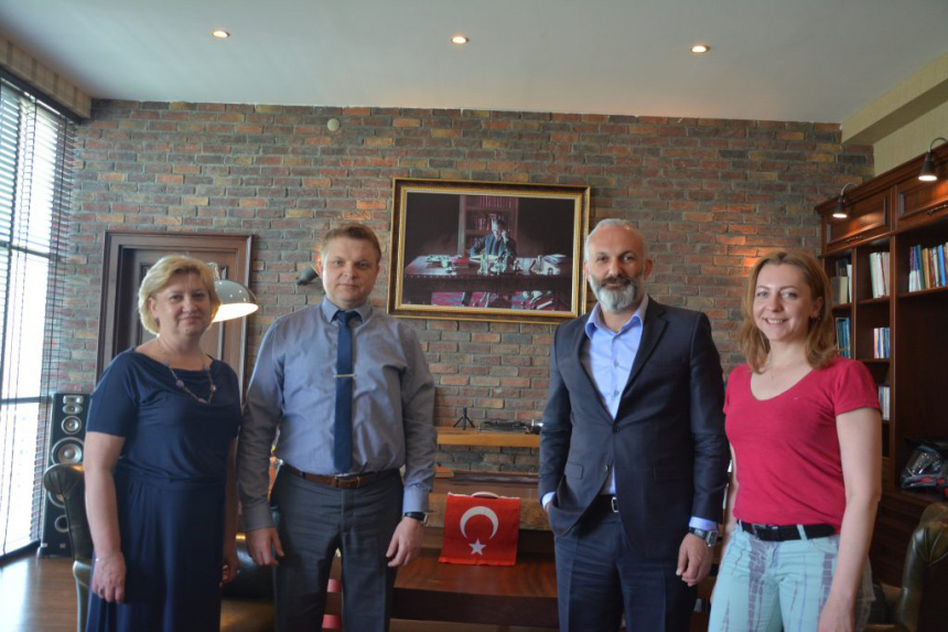 Викладачі Прикарпатського університету з робочим візитом побували у турецьких колег (ФОТО)