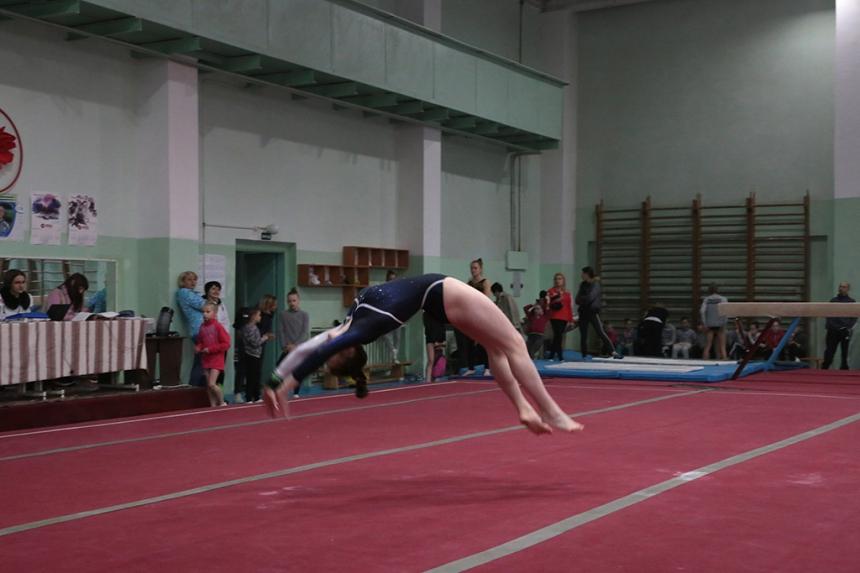 Майже 300 юних гімнастів змагаються на чемпіонаті України в Івано-Франківську (ФОТО)