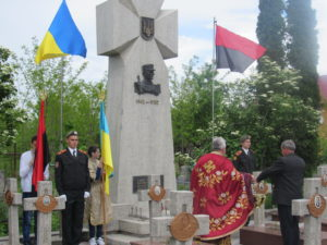 Відреставрований Меморіал воякам УПА відкрили на Надвірнянщині (ФОТО)