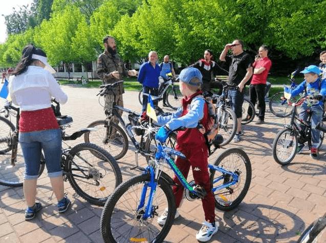 У Городенці загиблого атовця вшанували велопробігом (ФОТО)