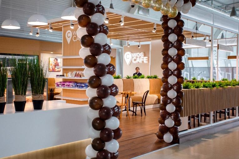 WOG CAFE відчинив двері для пасажирів міжнародного аеропорту Львова (ФОТО)