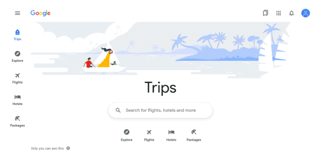 Google запустив сервіс для подорожей: можна шукати квитки, готелі та маршрути