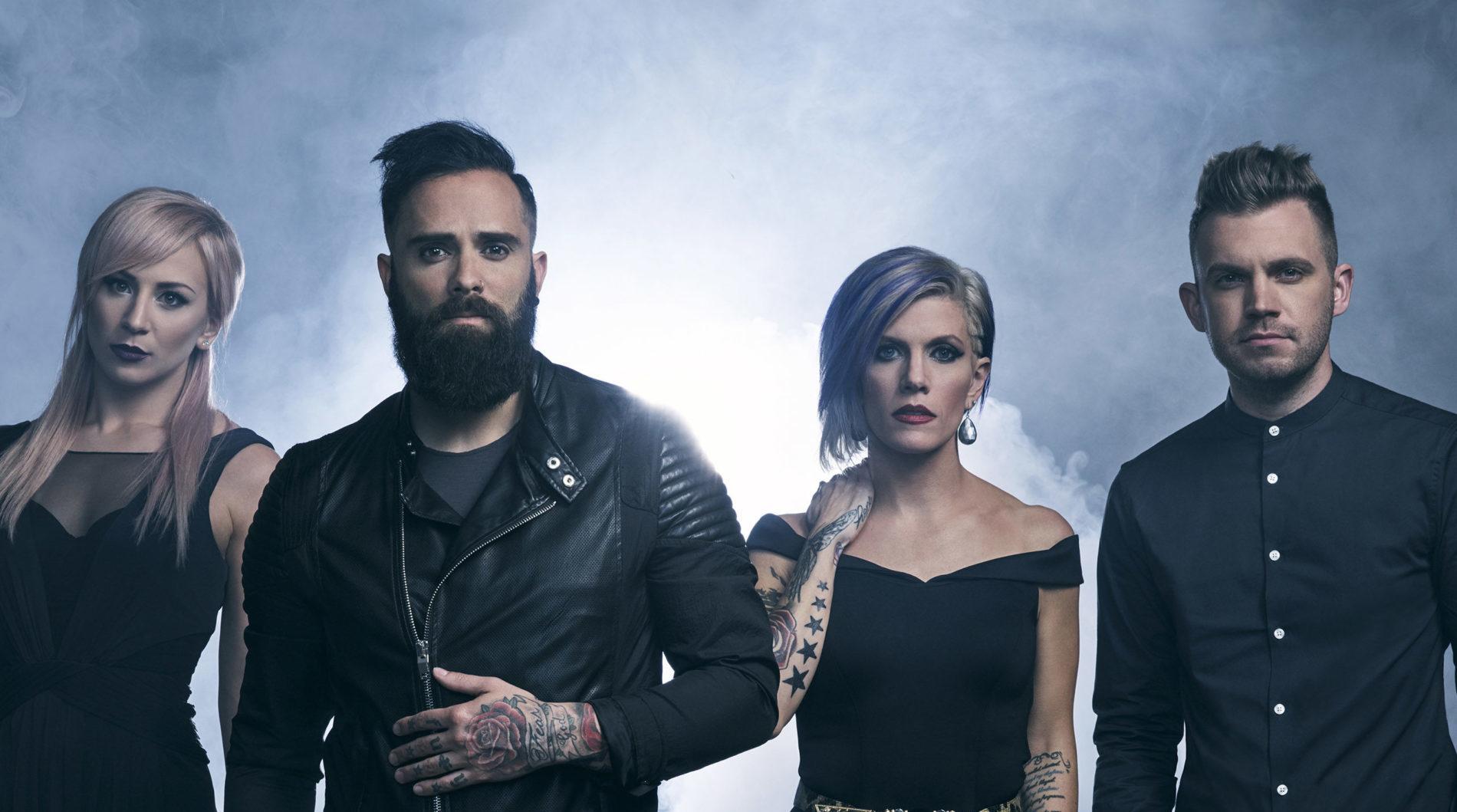 Американський гурт Skillet виступить у Києві з новою платівкою (ВІДЕО)