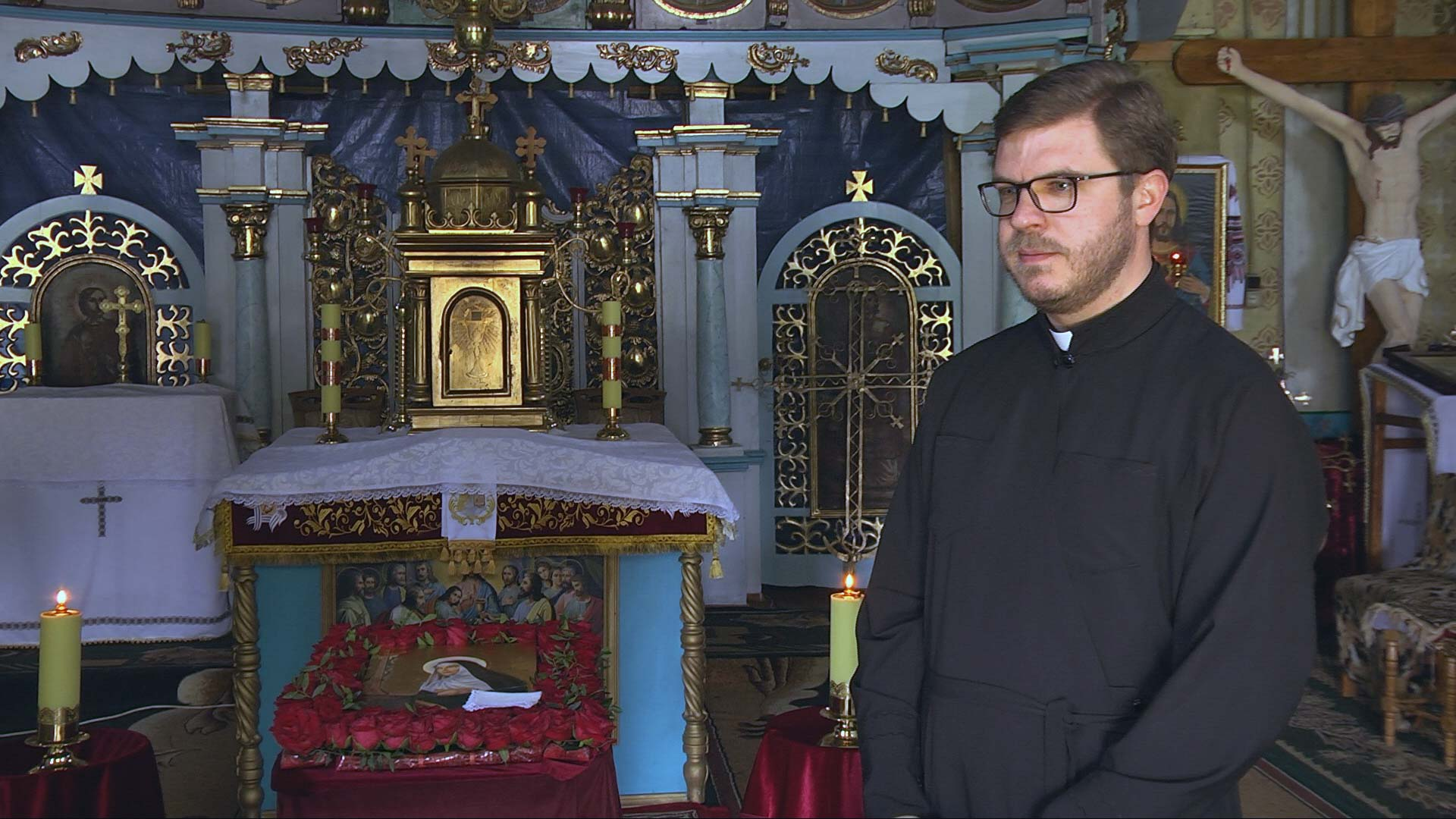 У Коломию привезли ікону Святої Ріти з Італії (ВІДЕО)