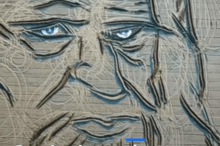 Італієць створив нову картину за допомогою трактора (ФОТО)