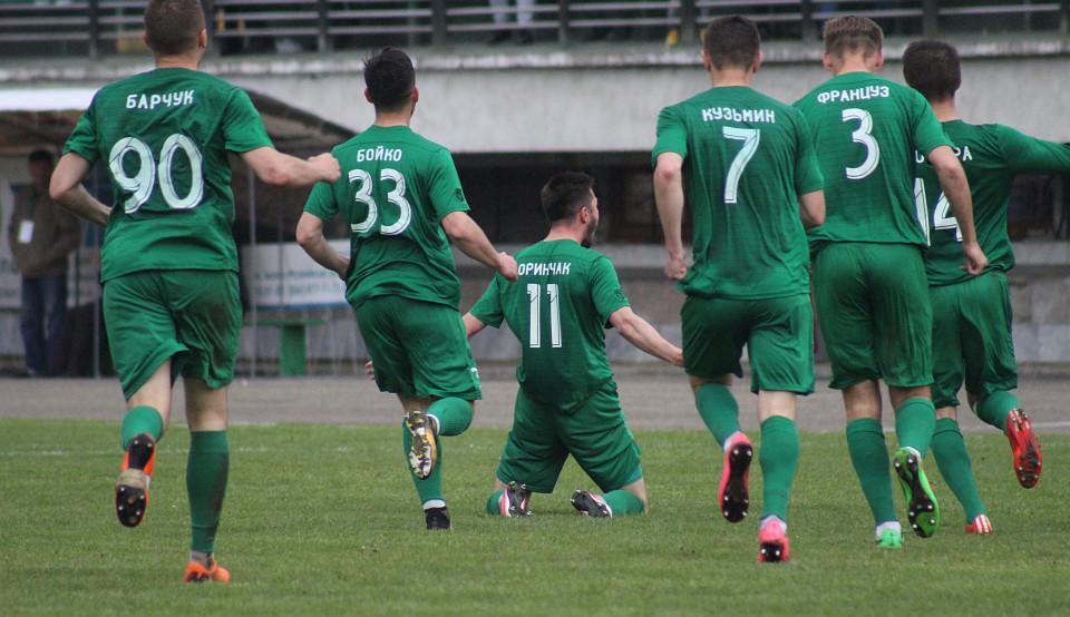"""Троє гравців """"Прикарпаття"""" і тренер Ковалюк – у символічній збірній 28 туру Першої ліги"""