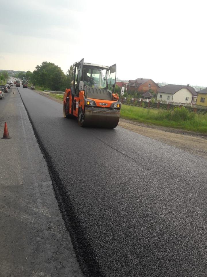 На Рожнятівщині завершують ремонт автодороги державного значення (ФОТО)
