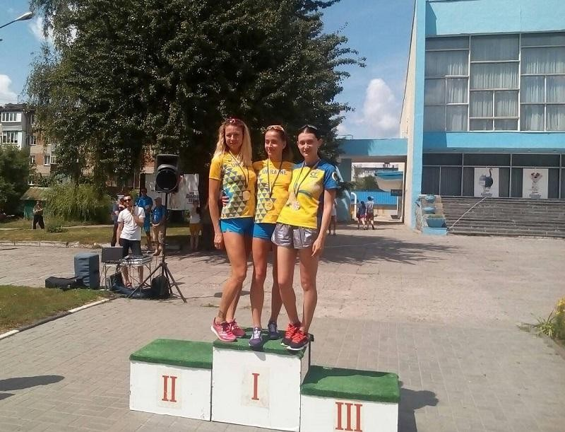Прикарпатські легкоатлетки вибороли медалі чемпіонату України зі спортивної ходьби