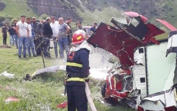 У Грузії розбився вертоліт, є жертви