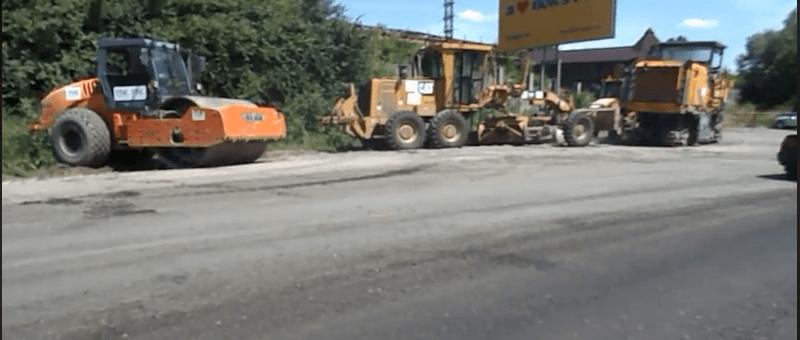 У Городенці ремонтують дорогу державного значення Снятин-Тязів (ВІДЕО)