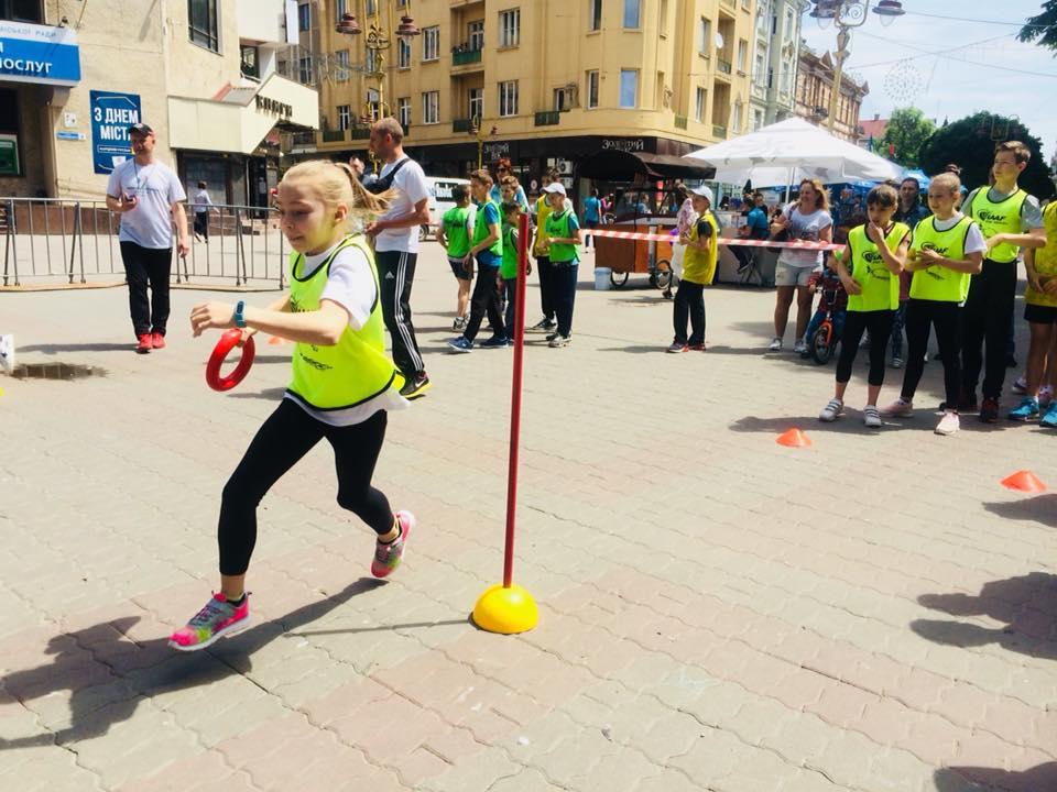 Юні франківці змагалися у легкій атлетиці запрограмою ІААF (ФОТО)