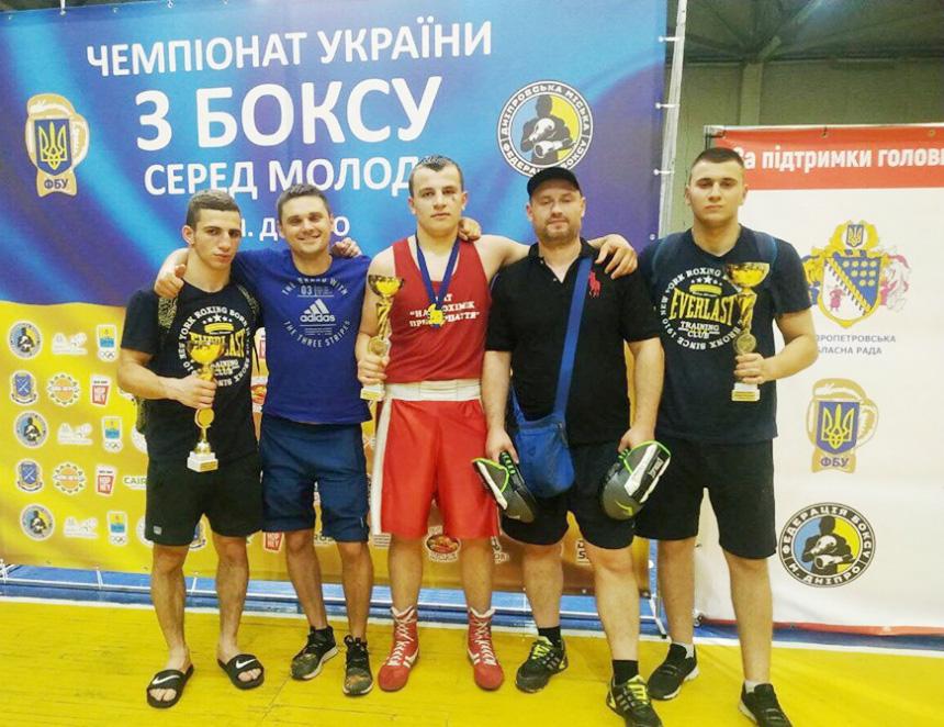 Команда з Прикарпаття посіла третє місце на чемпіонаті України з боксу