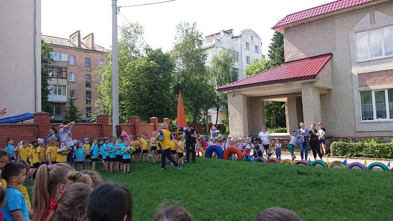 """Для вихованців дитсадка """"Бджілка"""" провели Олімпійський день (ФОТО)"""