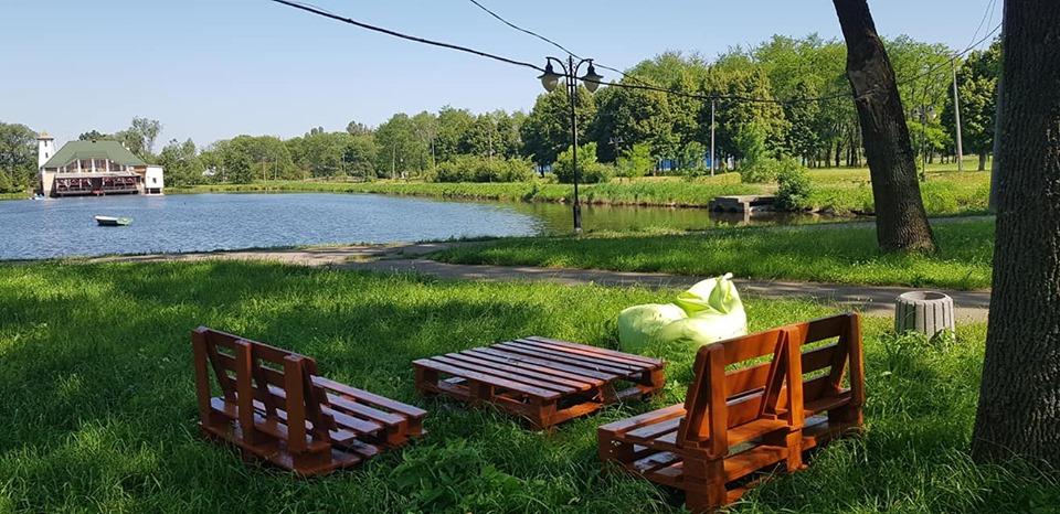 Калуський парк імені Франка поповнився новою екозоною (ФОТО)