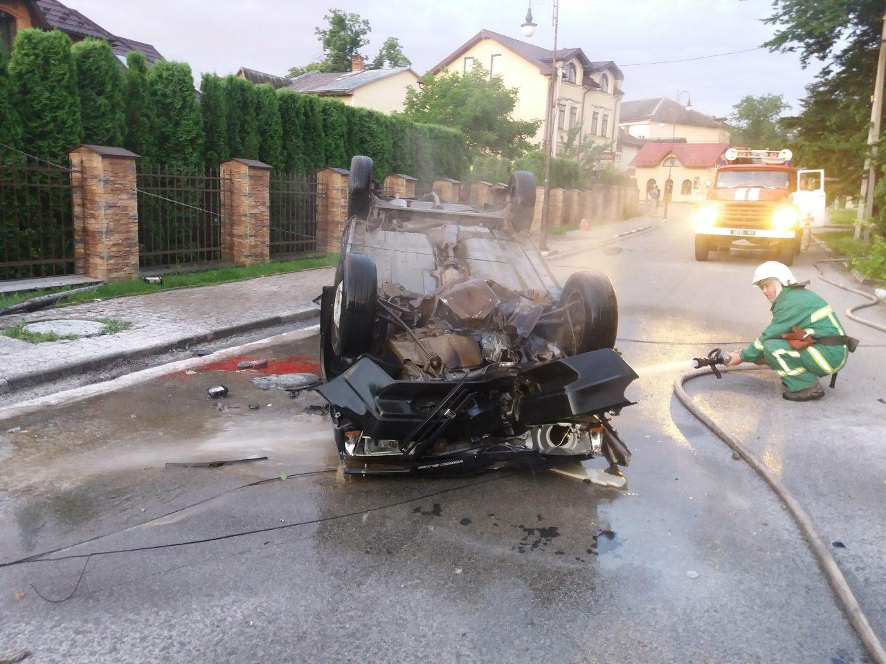 Поліція спіймала водія-втікача, котрий скоїв смертельну ДТП в Болехові. Він був п'яний (ФОТО)