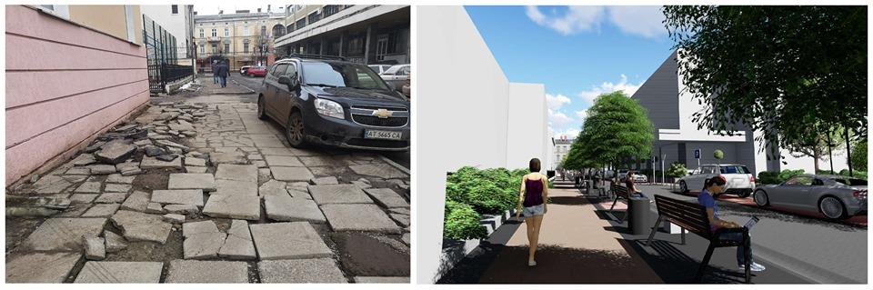 Вулицю Петрушевича капітально відремонтують. Якою вона стане? (ФОТО)