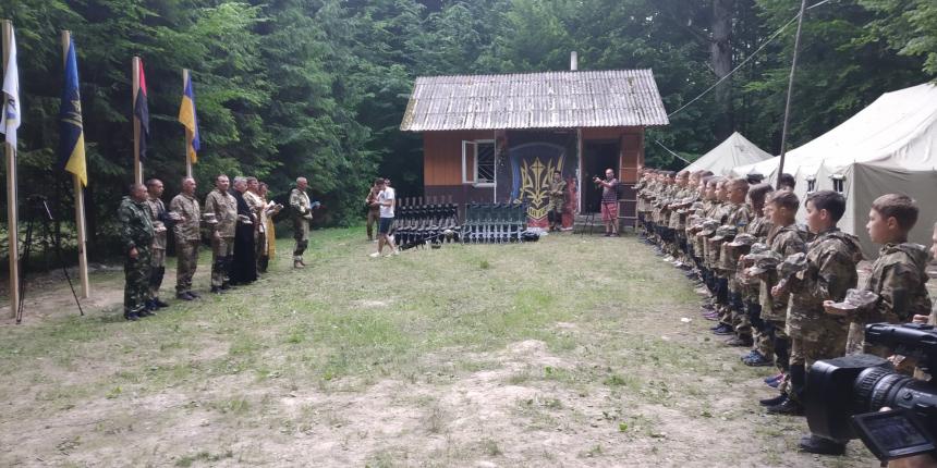 На Коломийщині стартував військово-патріотичний вишкіл молоді