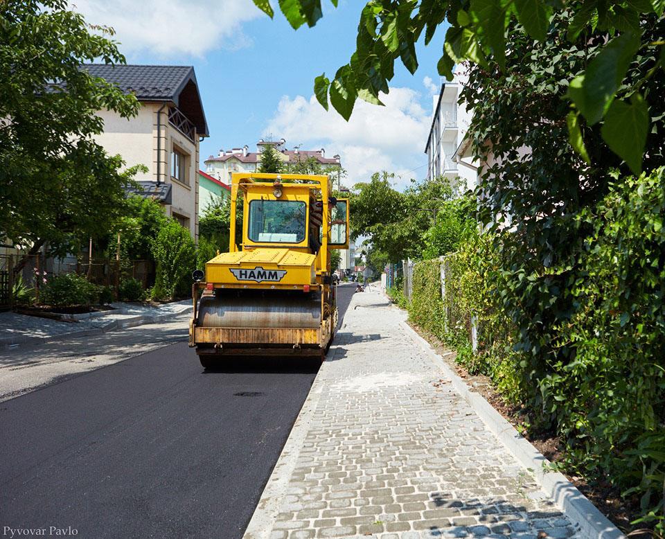 На Індустріальній триває ремонт дороги (ФОТО)