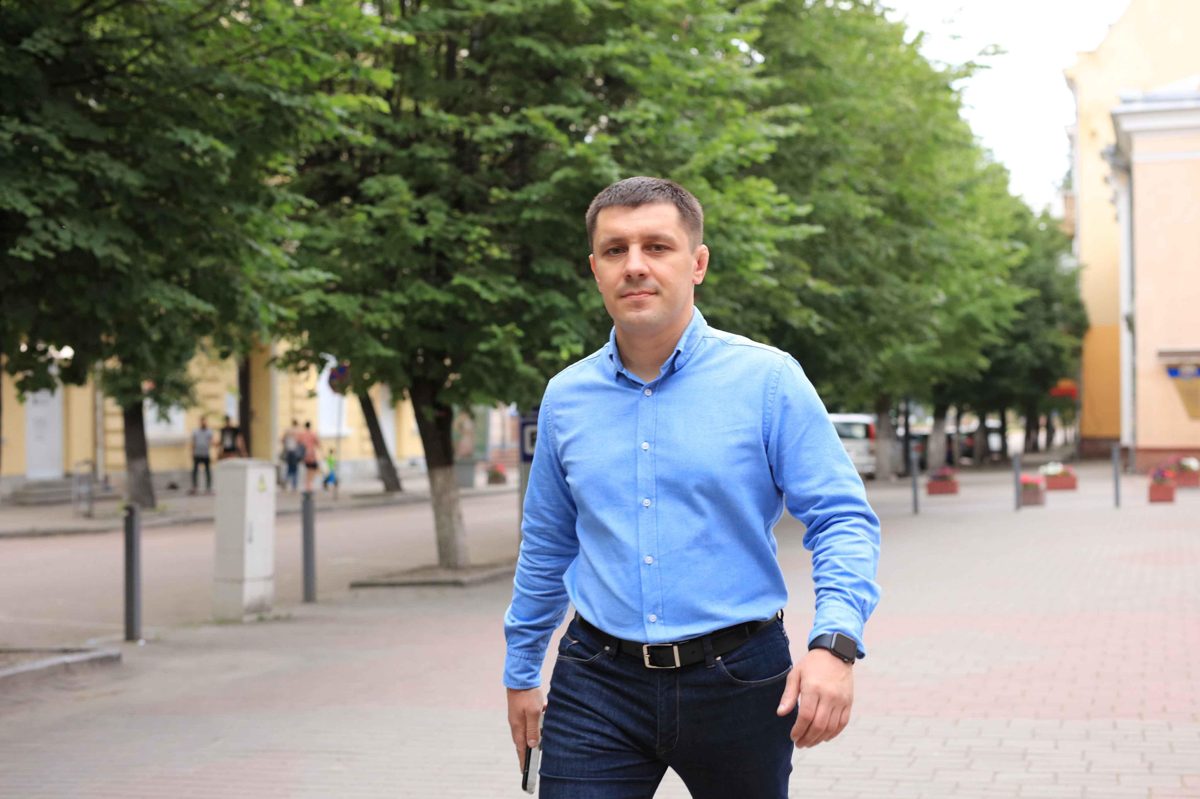 Калушанин Едуард Прощук йде на парламентські вибори: «Майбутнє за цілеспрямованими і молодими політиками!»