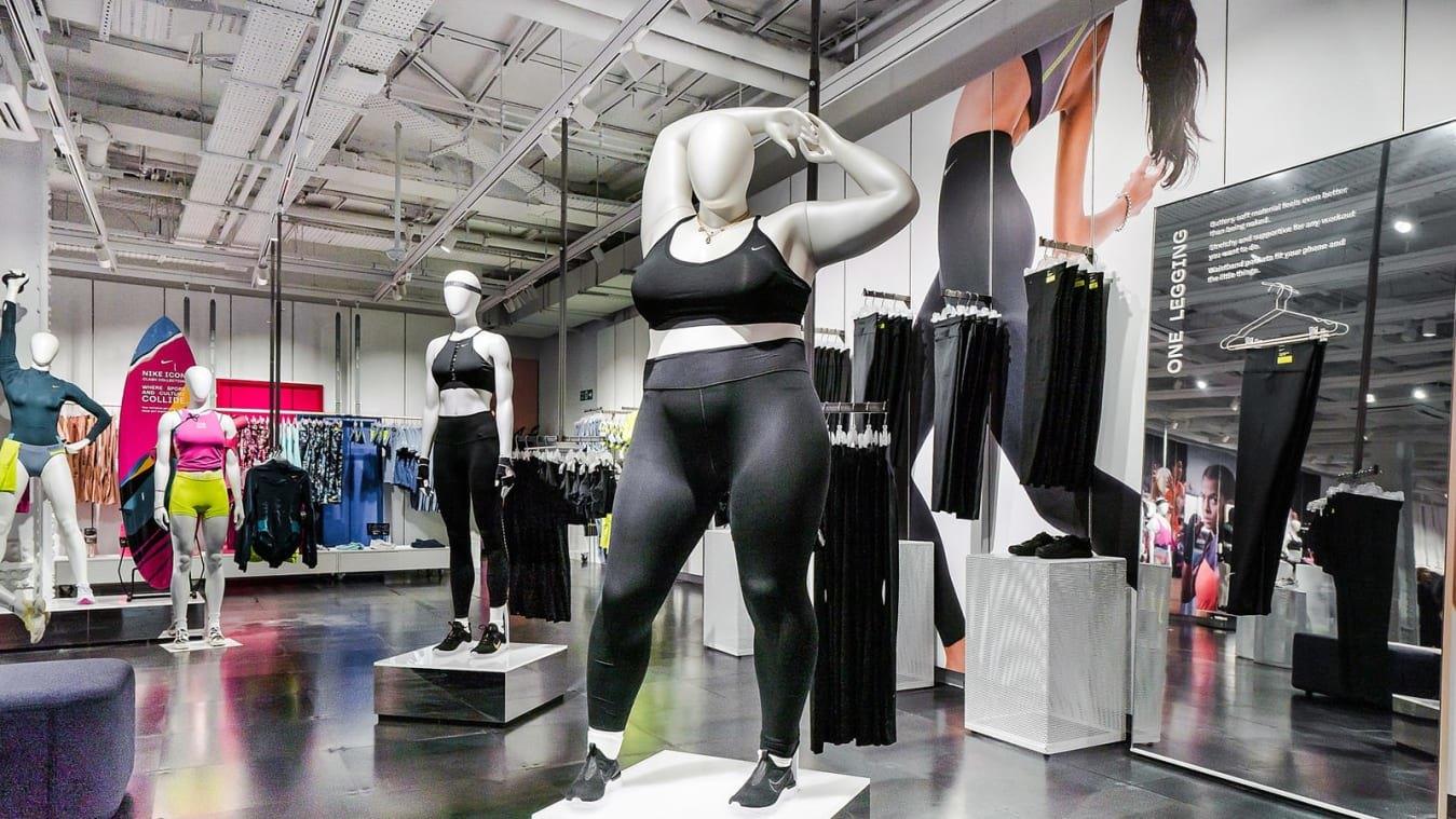 У магазині Nike вперше з'явилися манекени плюс-сайз (ФОТО)