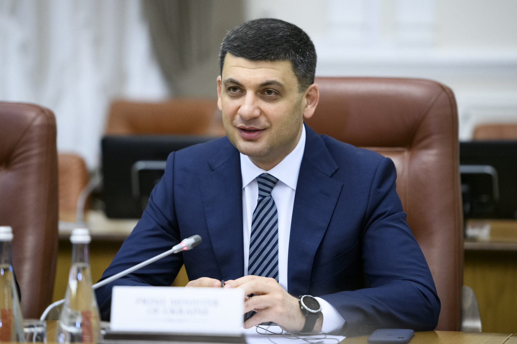 Гройсман йде на вибори до парламенту на чолі «Української стратегії»