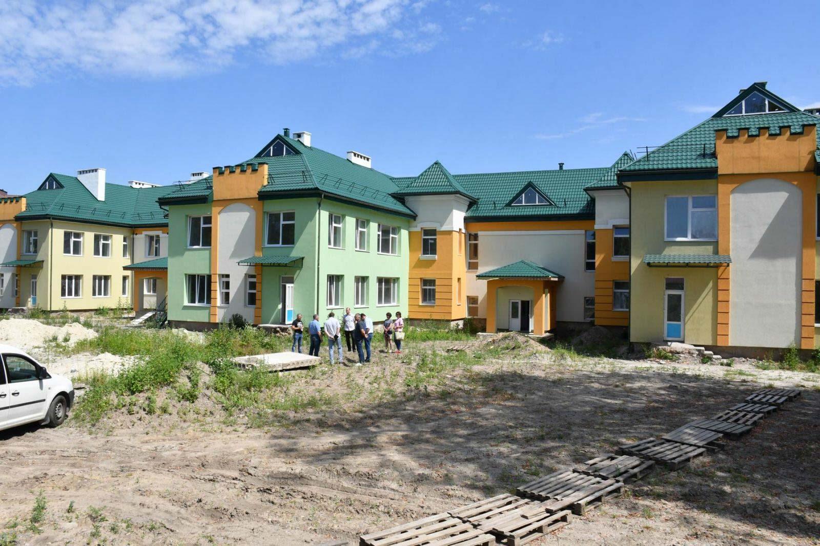 На завершення дитсадка на Хоткевича місто виділить понад 26 мільйонів