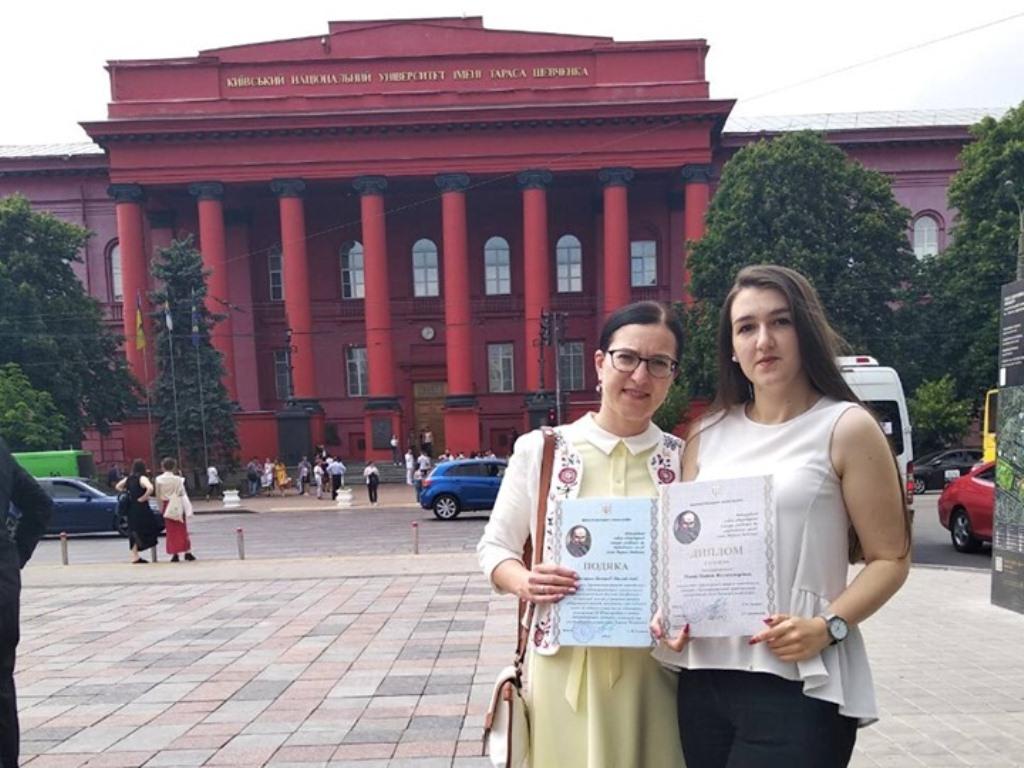 Студентка з Франківська перемогла на Міжнародному мовно-літературному конкурсі ім.Т.Шевченка