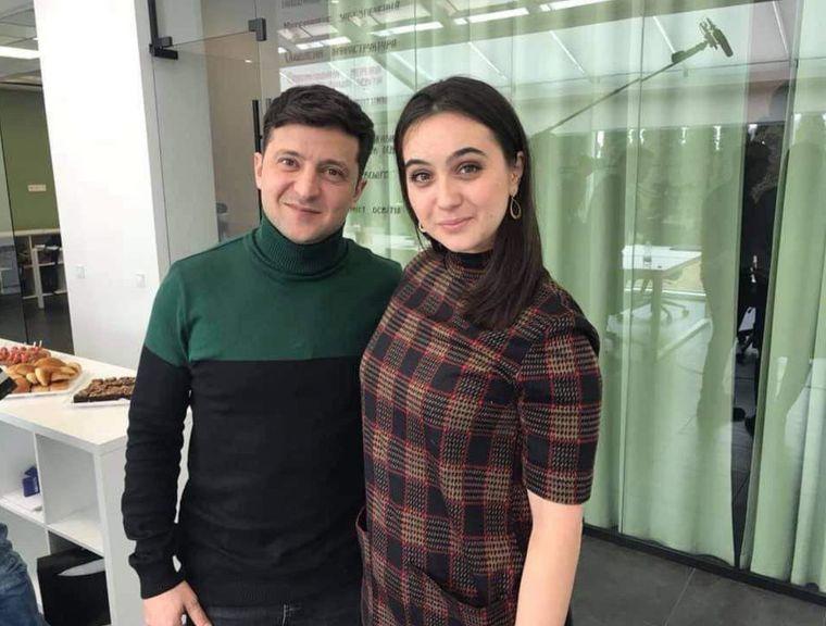 Зеленський визначився, хто буде його прес-секретаркою (ФОТОФАКТ)